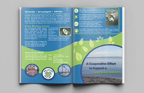 example brochure graphic design